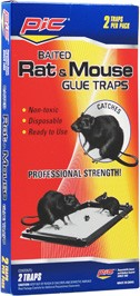 PIC GLUE RAT TRAPS 2PK