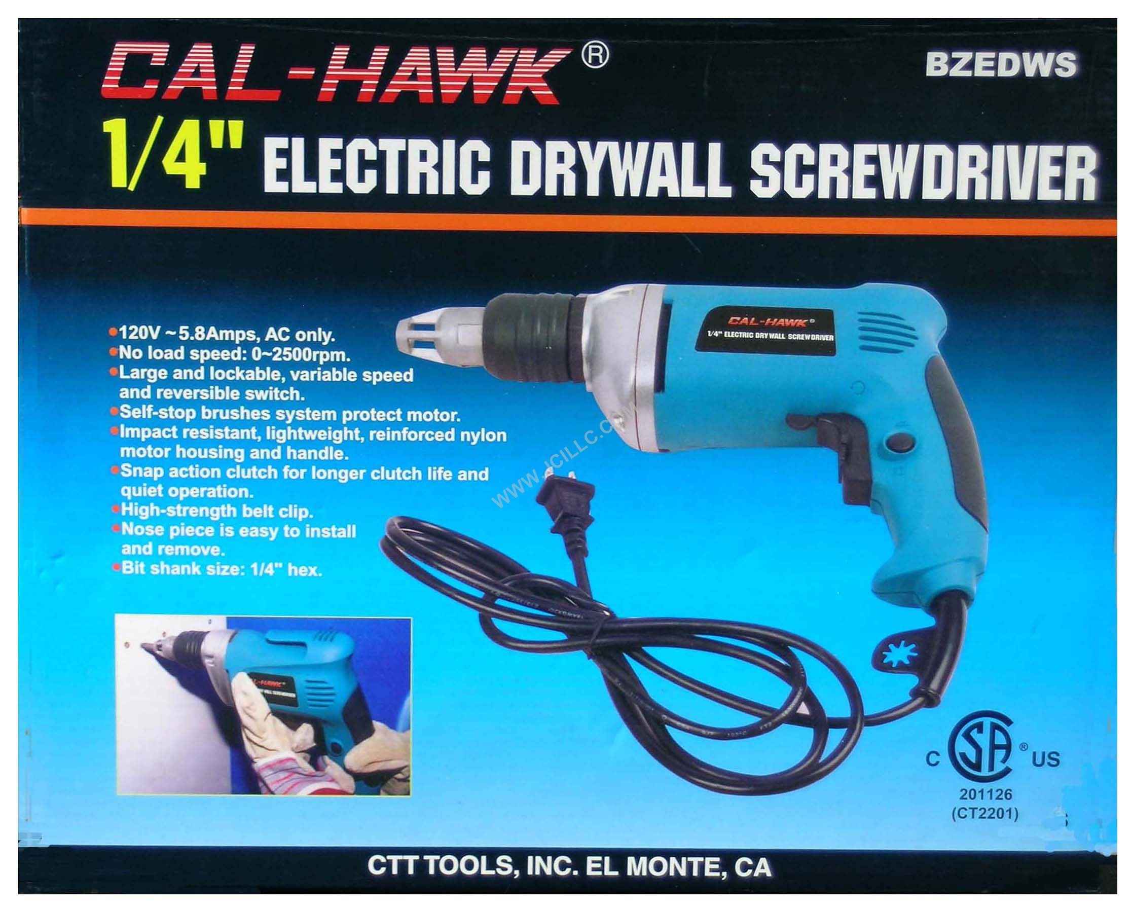 ELECTRIC DRYWALL SCREWDRIVER, Tools Screwdrivers Sets