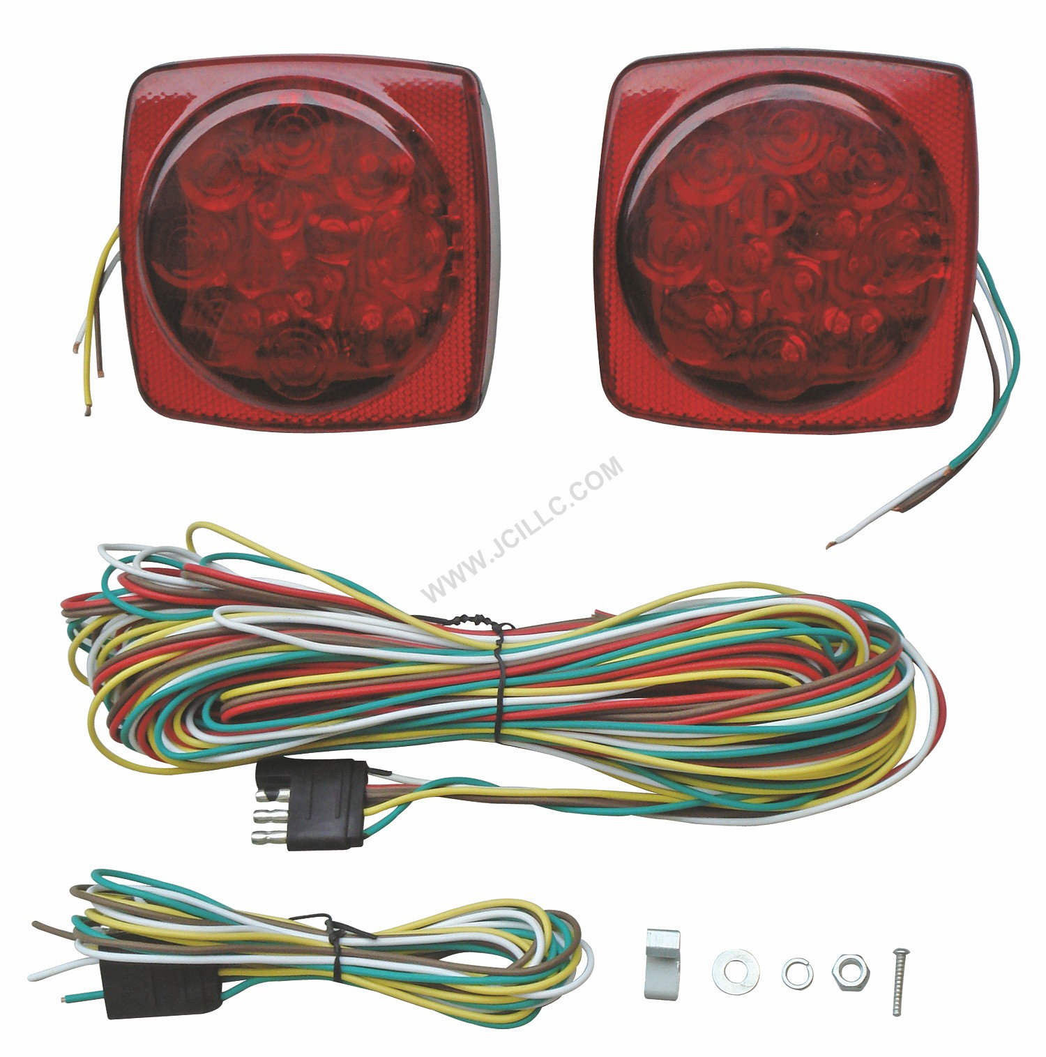 Trailer Lighting Kit Trailer Towing Lights Lighting Wiring