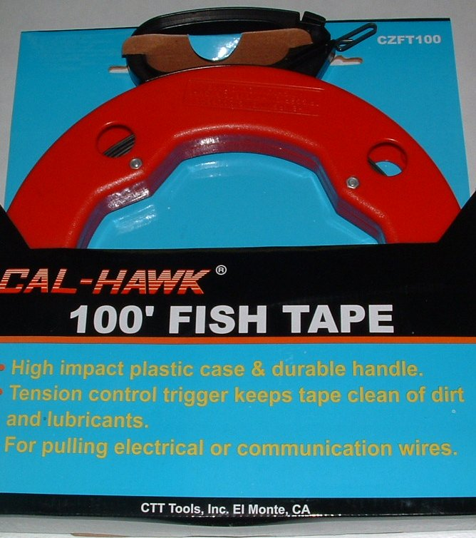 100 FOOT FISH TAPE (WIRE SNAKE), Tools Electrical Tools , wholesale ...