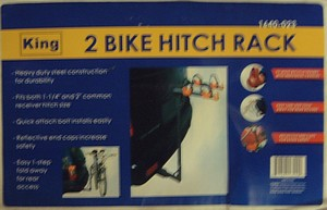 2 BIKE HITCH RACK