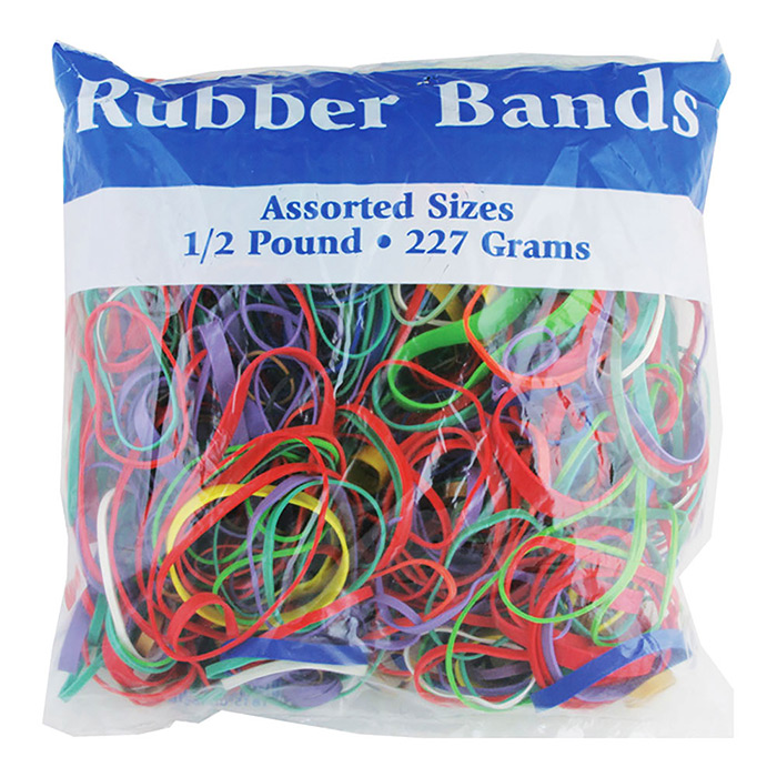 BAZIC 1/2LB RUBBER BANDS
