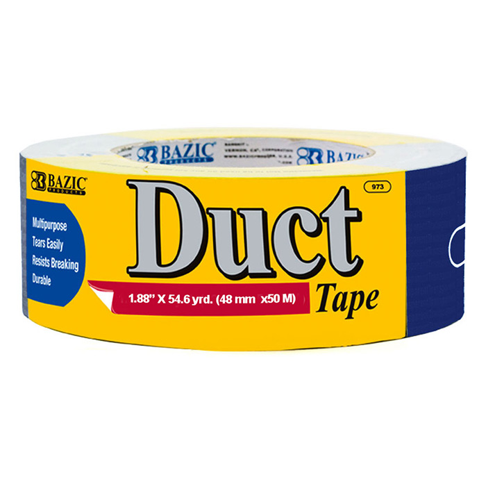 BAZIC DUCT TAPE 2 INCH X60YD BLUE