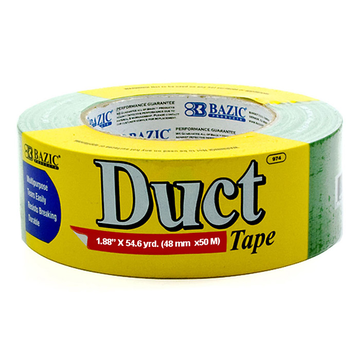 BAZIC DUCT TAPE 2 INCH X60YD GREEN
