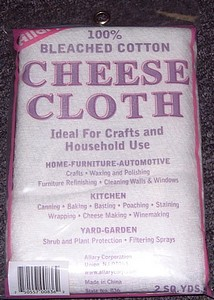 2 YARDS CHEESECLOTH