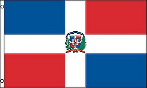 3X5 FLAG - DOMINICAN REPUBLIC