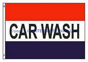 3X5 FLAG - CAR WASH