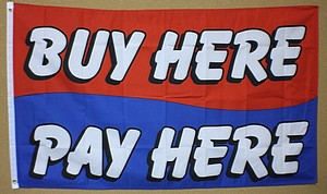 3X5 FLAG - BUY HERE PAY HERE