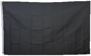 3X5 FLAG - SOLID BLACK