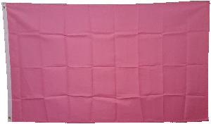 3X5 FLAG - SOLID PINK