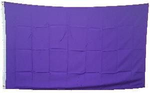 3X5 FLAG - SOLID PURPLE