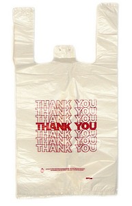 THANK-YOU BAGS MED 10X6X20