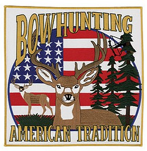 12 INCH  PATCH - BOWHUNTING