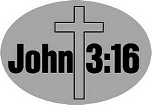 HITCH COVER JOHN 3:16