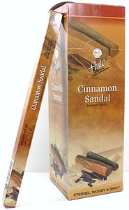 INCENSE 8PK CINNAMON/SANDALWD