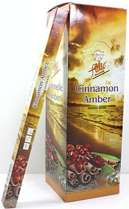 INCENSE 8PK CINNAMON AMBER
