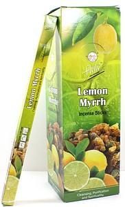 INCENSE 8PK LEMON MYRHH