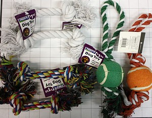 ASSORTED DOG TOY CLOSEOUT