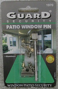 PATIO DOOR PIN ALUMINUM