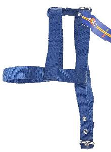 "1"" DOG HARNESS - DARK BLUE"