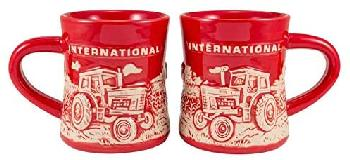 12 OZ STONEWARE DINER MUG - INTERNATIONAL (RELIEF DESIGN)