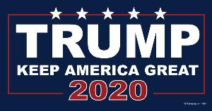 CAR MAGNET-KEEP AMERICA GREAT