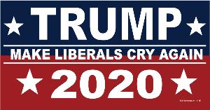 CAR MAGNET-MAKE LIBERALS CRY
