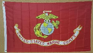 FLAG - MARINES 3 FOOT X 5 FOOT