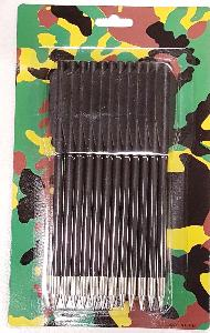 12PK BLACK CROSSBOW BOLTS (ARROWS)