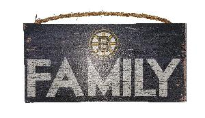 BRUINS FAMILY SIGN