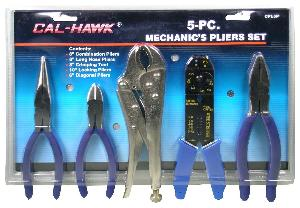 5PC MECHANICS  PLIERS SET