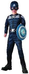 CAPTAIN AMERICAN WINTER SOLDIER COSTUME