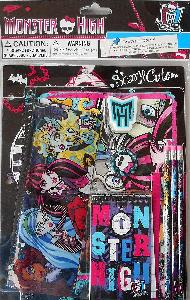 11PC MONSTER HIGH SCHOOL SET