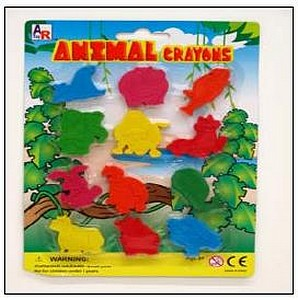 12PC ANIMAL CRAYON SET