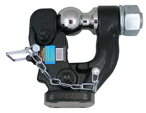 COMBO PINTLE HOOK 2 INCH  BALL