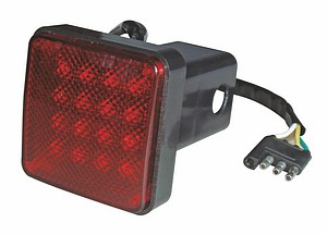 TRAILER HITCH COVER BRAKE LIT
