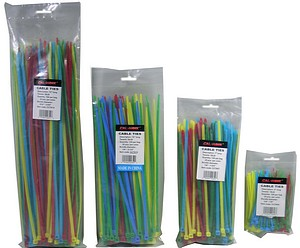 10 INCH  COLOR CABLE TIES