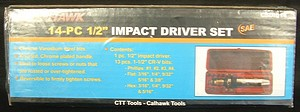14PC 1/2 INCH  IMPACT DRIVER
