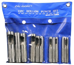 12PC BELT PUNCH
