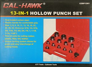 13 IN 1 HOLLOW PUNCH SET