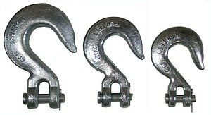 CHAIN HOOK 3/8 INCH  CLEVIS SLIP