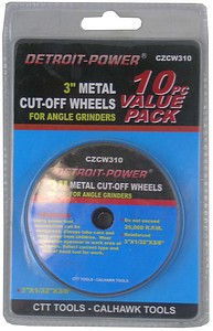 CUTOFF WHEEL-10PC-3 INCH
