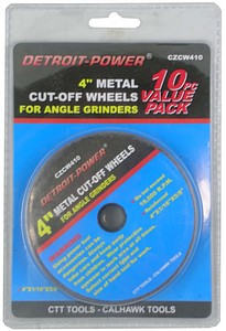 CUTOFF WHEEL-10PC-4 INCH