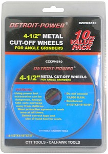 CUTOFF WHEEL-10PC-4.5 INCH