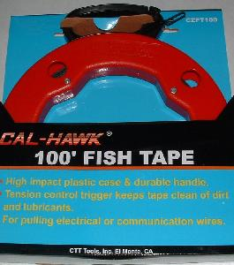 100 FOOT FISH TAPE (WIRE SNAKE)