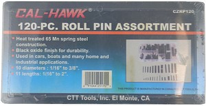 120PC ROLL PIN ASORTMENT