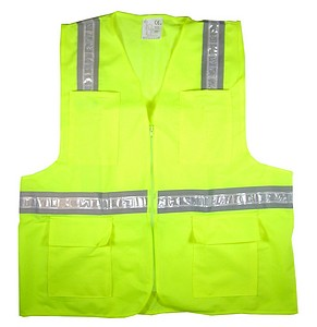 LIME SAFETY VEST-LG