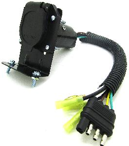 7WAY TRAILER ADAPTER WITH WIRES