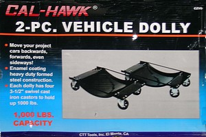 1000# VEHICLE DOLLY