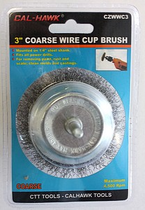 3 INCH  COARSE WIRE CUP BRUSH